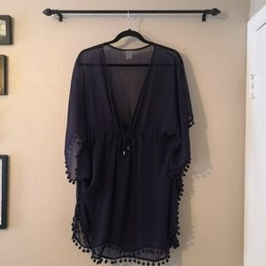 Bleu Rod Beattie Caftan Tunic Swimsuit Coverup